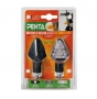 Blinkry Lampa Penta Led carbon
