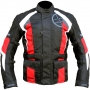 Textilní bunda Oxford Fuega red