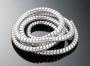 Chromový kryt kabelů / lanek, 1,5mx10,2mm HWH 20-124