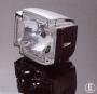Hlavní motocyklové světlo GOTHIC CHROME HWH 63-223070