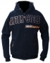 Mikina Motorcycles Performance BLKEX5 Black and White