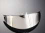 Štítek na světlo chrom 180mm HWH 66-051